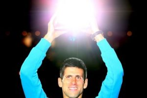 8. Abierto de Australia (2015). Se volvió a imponer a Andy Murray con marcadores 7–6 (7–5), 6–7 (4–7), 6–3, 6–0. Foto:Getty Images