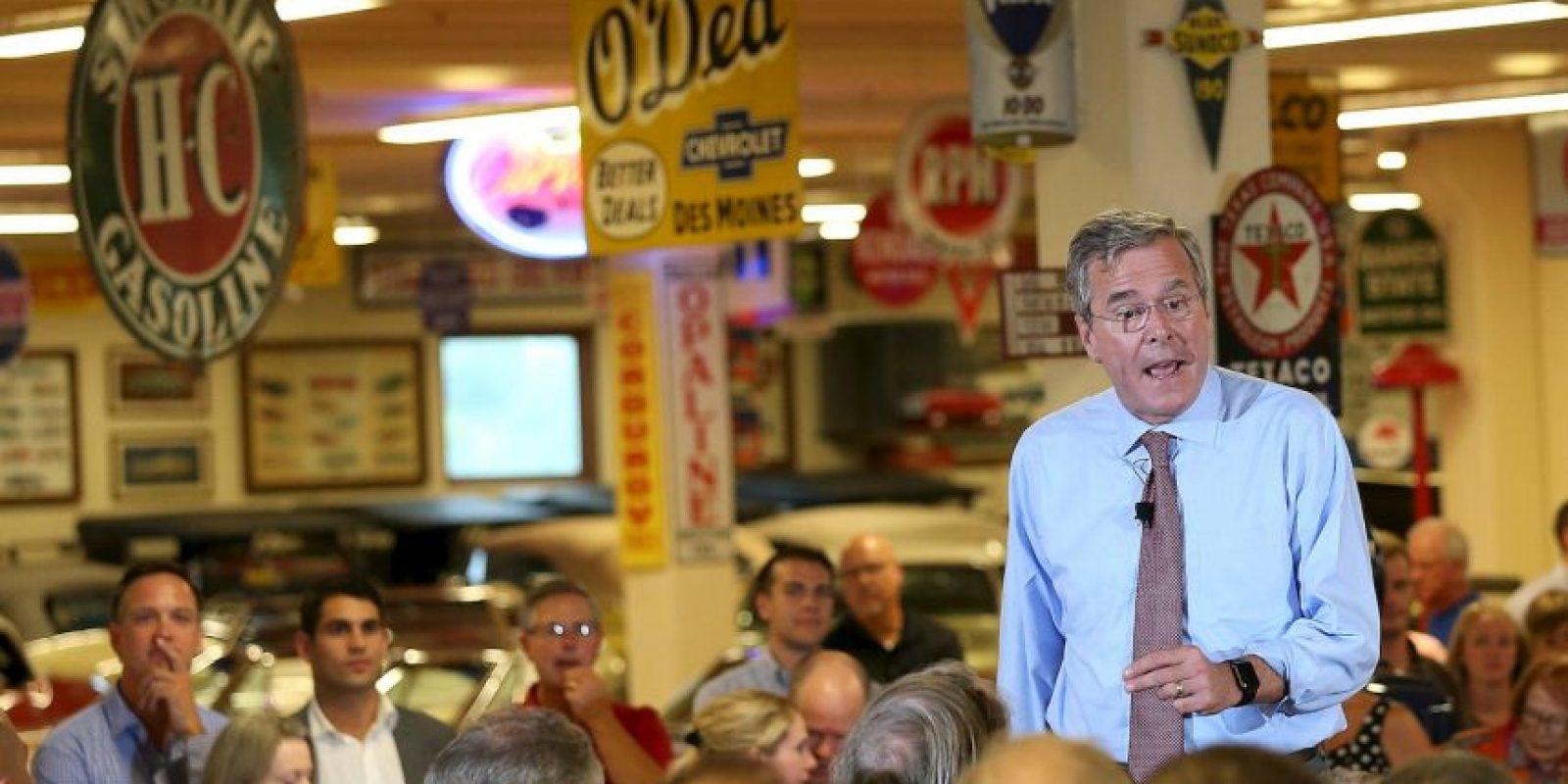 Procrearon tres hijos: George P. Bush, Noelle Bush, John Ellis Bush Jr. Foto:Getty Images