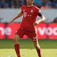 Jugador más valioso: Thomas Müller (55 millones de euros). Foto:Getty Images