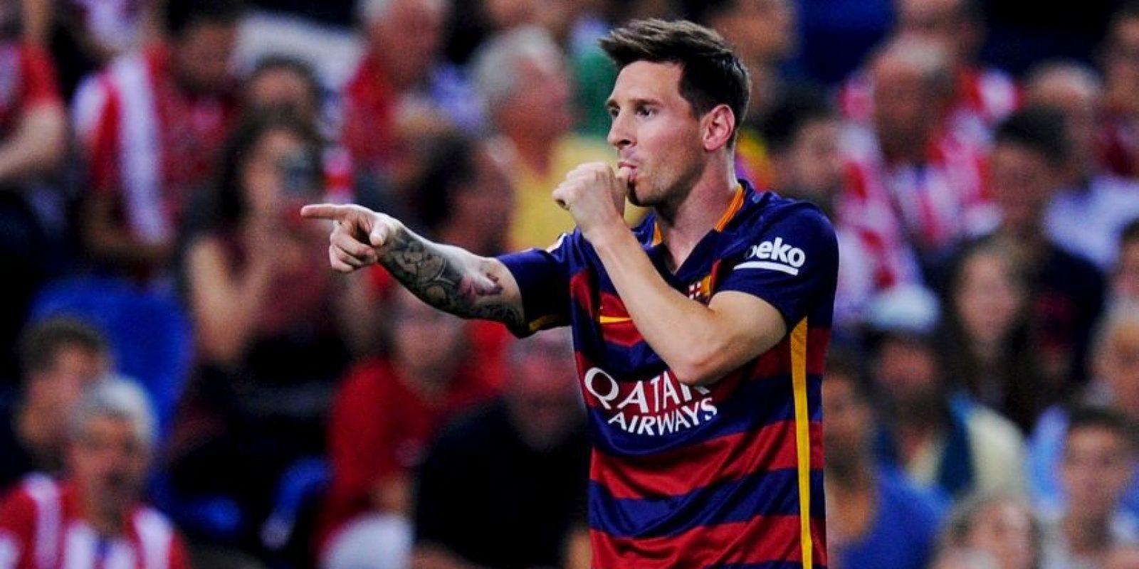Jugador más valioso: Lionel Messi (120 millones de euros). Foto:Getty Images