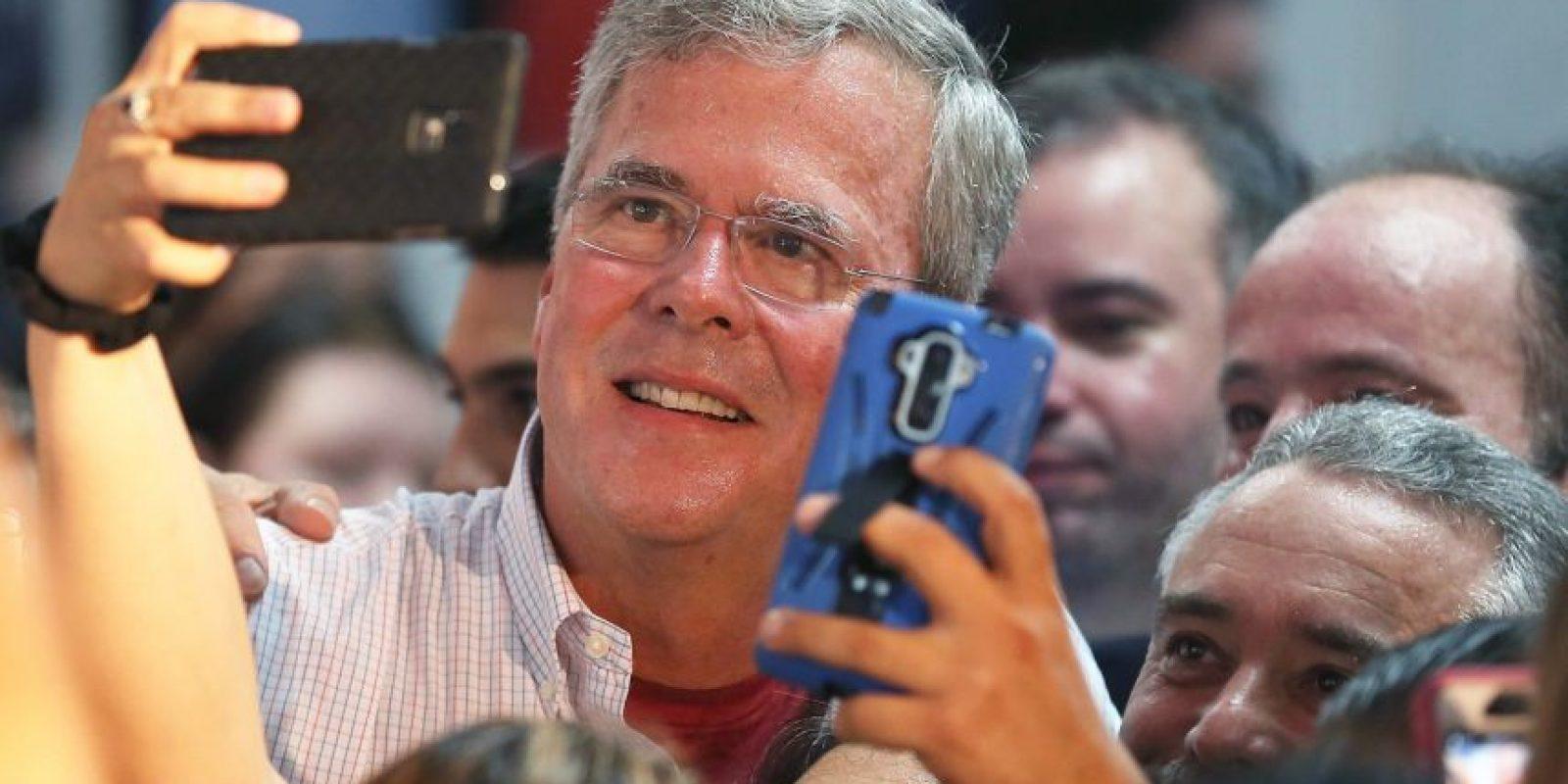 En medio de su campaña por la presidencia de Estados Unidos decidió grabar un video para celebrara el Mes de la Hispanidad. Foto:Getty Images