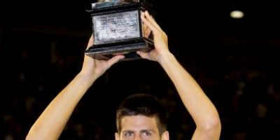 "Video: Novak Djokovic y su celebración ""espartana"" con Gerard Butler"