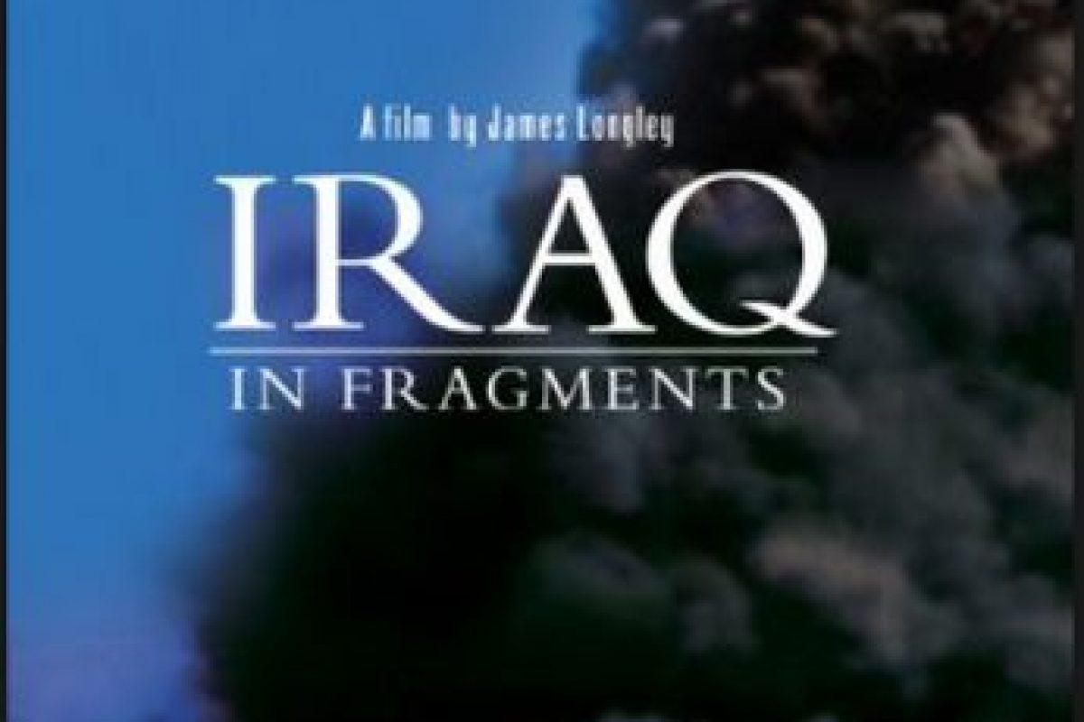 Trabajo ganador a mejor Cinematografía y Mejor edición en el Festival Sundance del 2006, el documental compone a través de tres relatos diferentes, la fotografía de Irak y sus conflictos Foto:James Longley