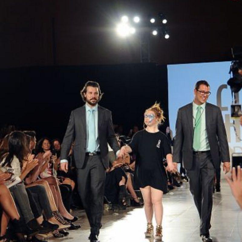 Desfiló para FTL Moda. Foto:vía Getty Images