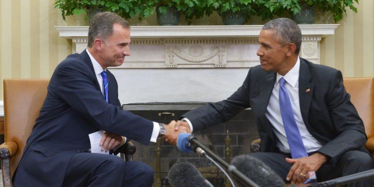 Obama habla con el rey Felipe sobre la crisis de refugiados
