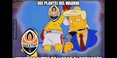 Comenzamos nuestro recorrido con el duelo entre Real Madrid y Shakhtar Donestk. Foto:Vía twitter.com/troll__football