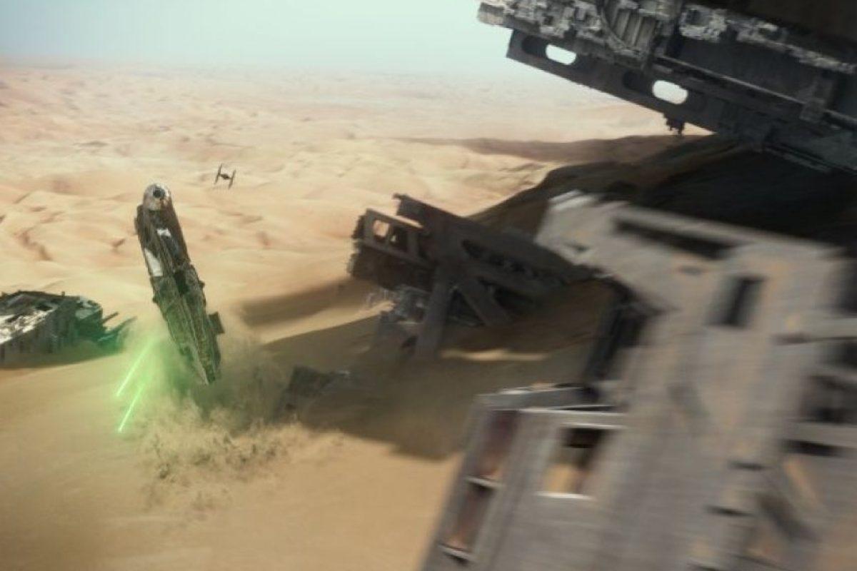 """""""The Force Awakens"""" es la primera entrega de la tercera trilogía de la franquicia. Foto:Lucasfilm"""