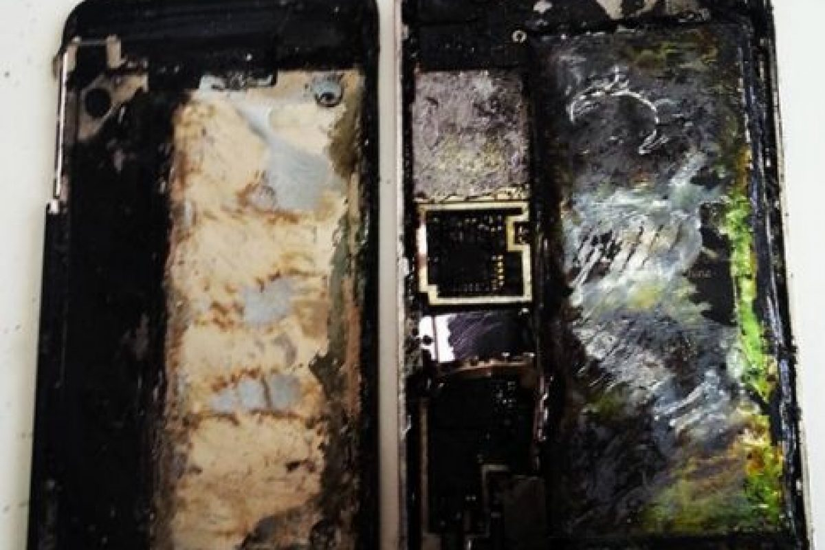 5) iPhones incendiados Foto: Pinterest