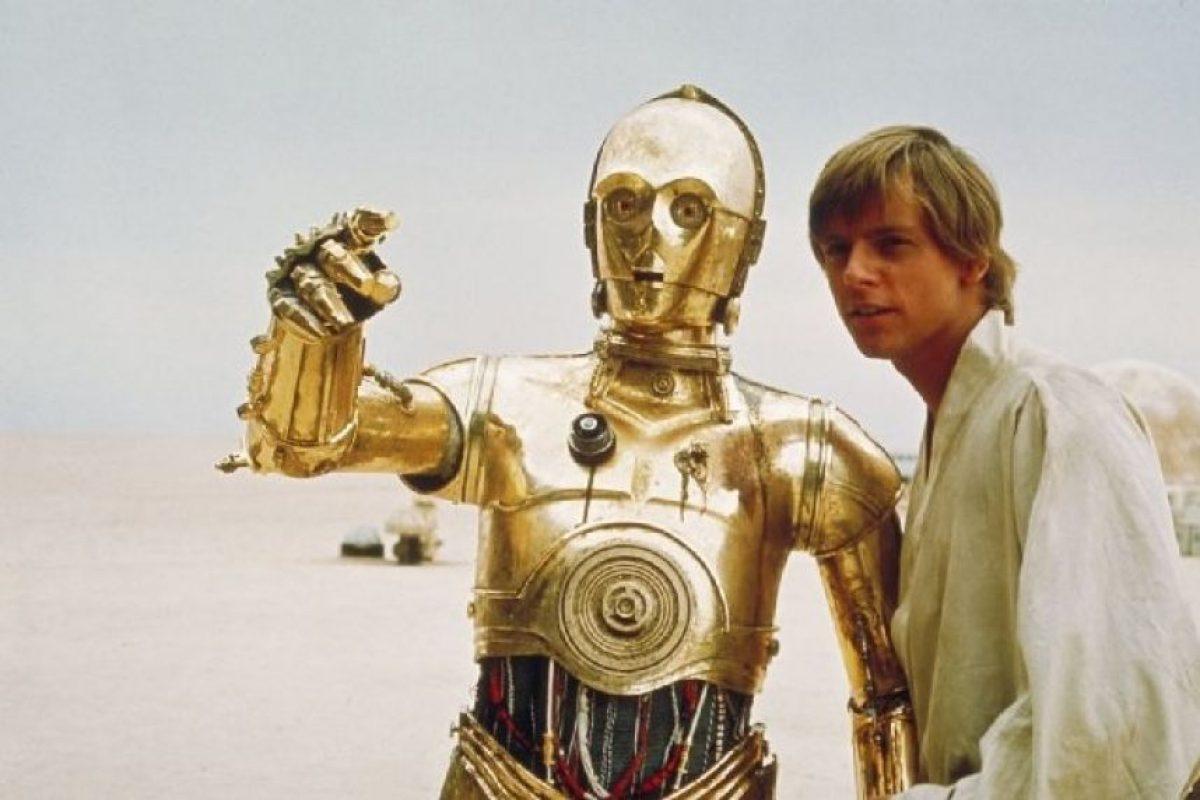 "Mark Hamill le da vida al personaje ""Luke Skywalker"". Foto:IMDb"