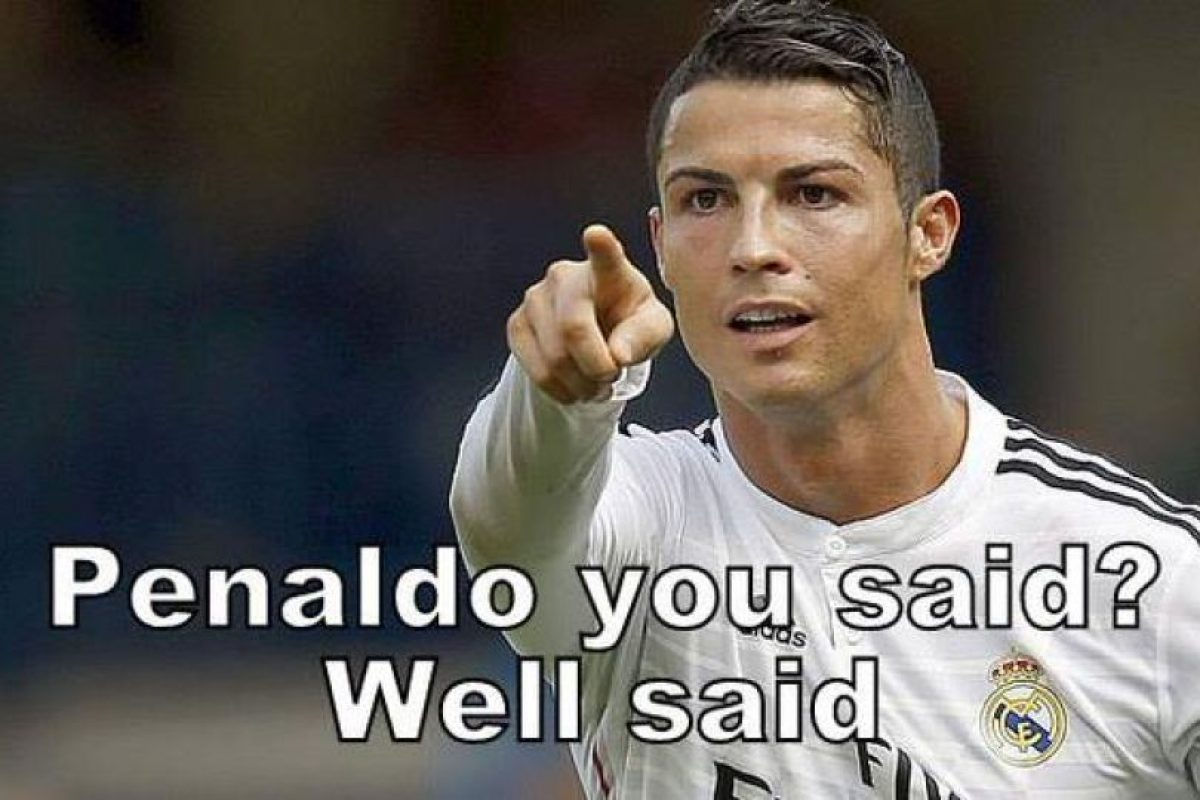"""¿Dijiste Penaldo? Bien dicho"". Foto:Vía twitter.com/troll__football"