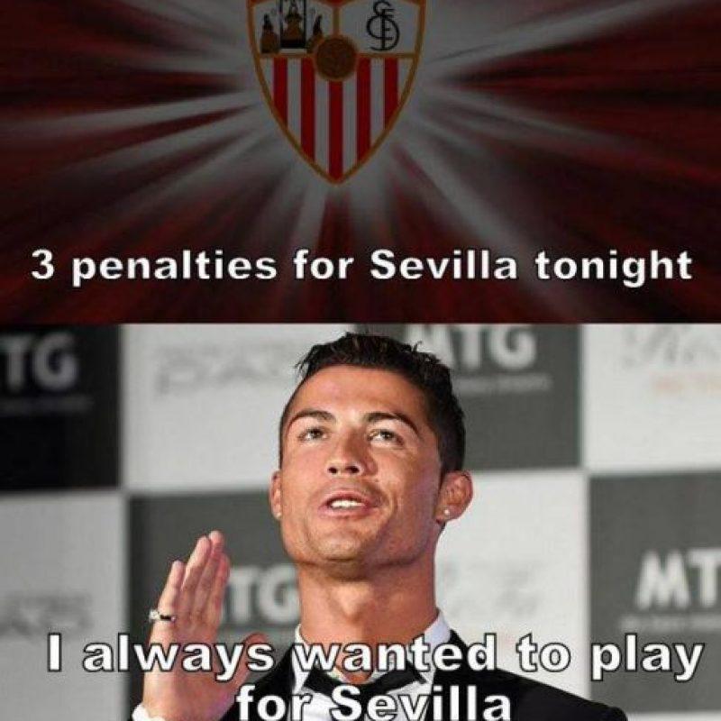 ¿Piensa Cristiano cambiar de club? Foto:Vía twitter.com/troll__football