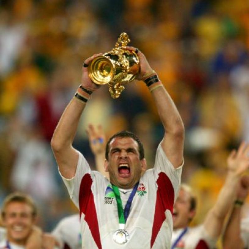 2. Martin Johnson (Inglaterra) Foto: Getty Images