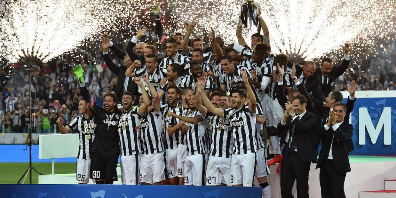 Lograron su boleto al coronarse campeones de la Serie A 2014-2015. Foto:Getty Images