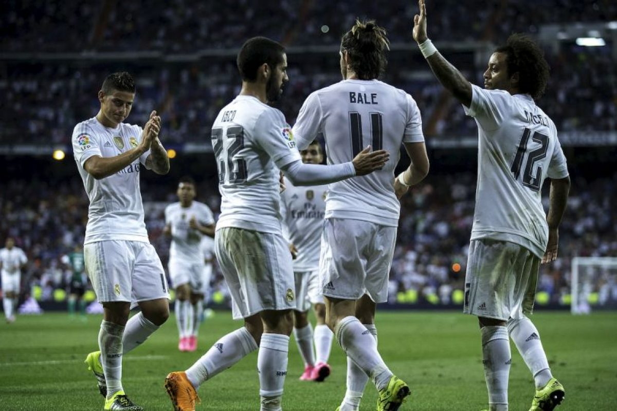 3. Real Madrid Foto: Getty Images