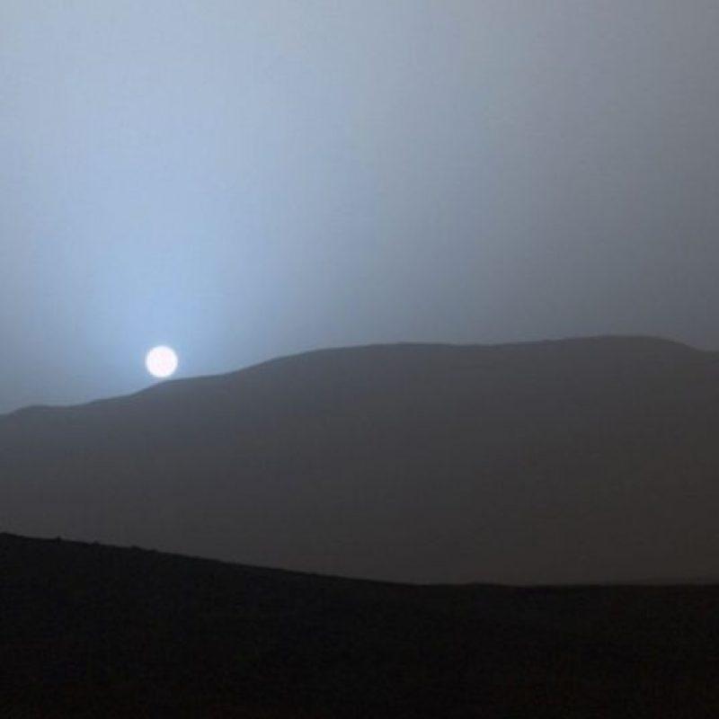 Un atardecer azul captado en Marte por el explorador Curiosity Foto:Instagram.com/NASA