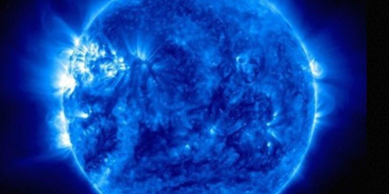 Fotografía ultravioleta del Sol, tomada en marzo pasado Foto:Instagram.com/NASA