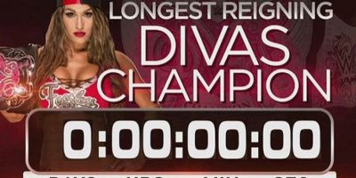 Nikki Bella regresó el contador a cero, tras retener su título en la función de Monday Night de la WWE. Foto:Vía instagram.com/thenikkibella