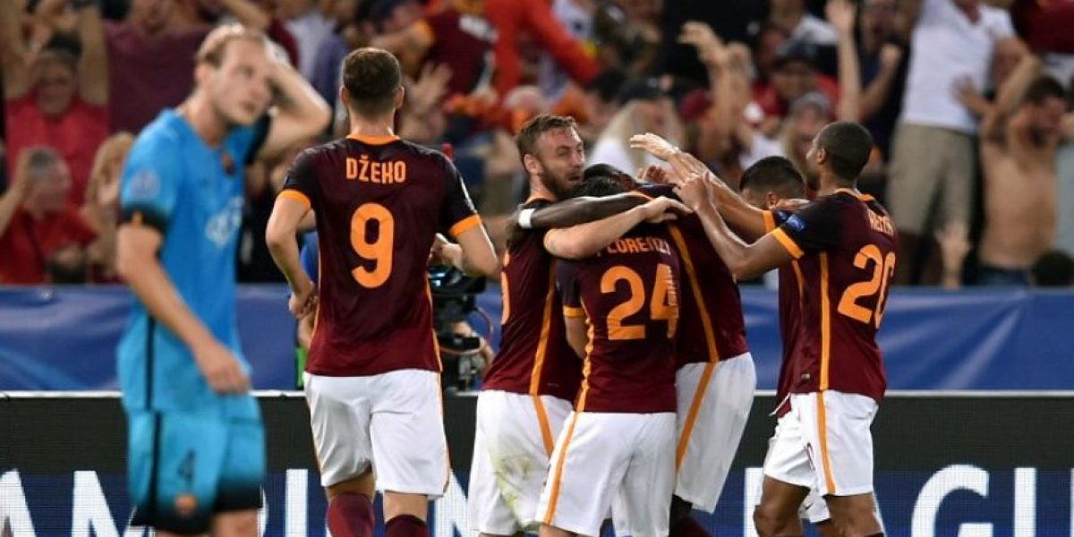 La Roma le cierra las puertas al Barça en su debut en la Champions