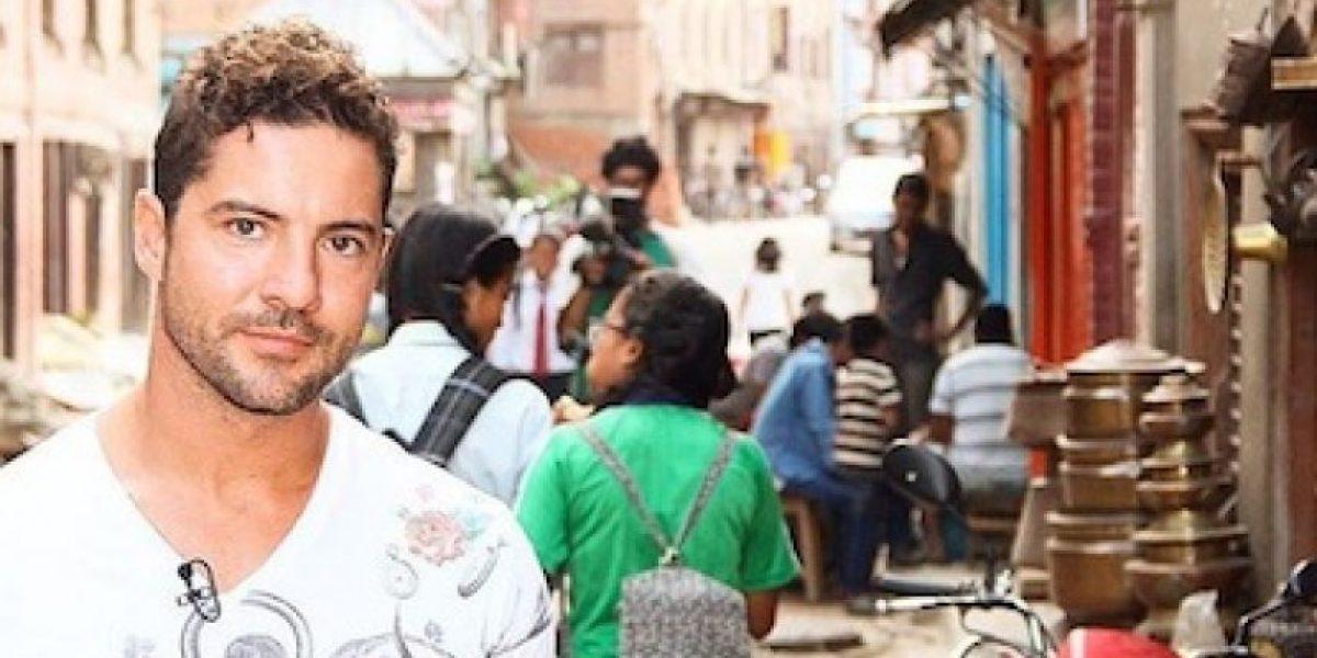 David Bisbal aporta su granito de arena para la reconstrucción de Nepal