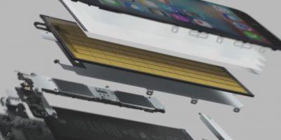 Los componentes internos. Foto:Apple