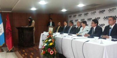 Abogados rinden homenaje a Fiscal General