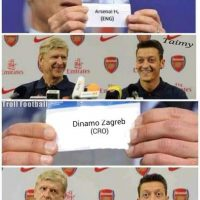 Mientras tanto, el Dinamo Zagreb sorprendió al Arsenal. Foto:memedeportes.com