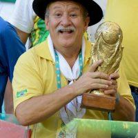 Y vivió y sufrió el Mundial de Brasil 2014. Foto:Getty Images