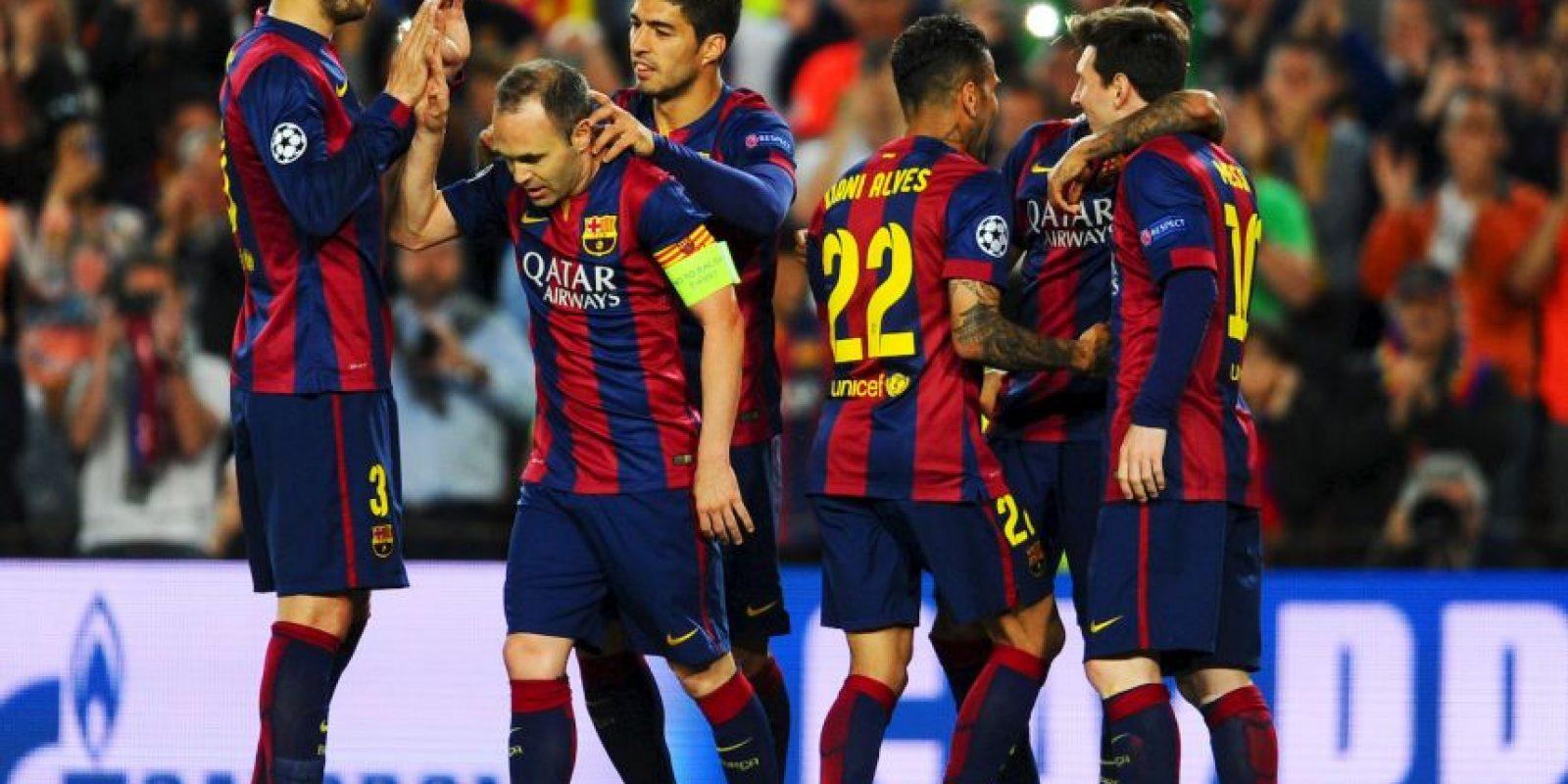 Barcelona debuta en la Champions League 2015/2015. Foto:Getty Images