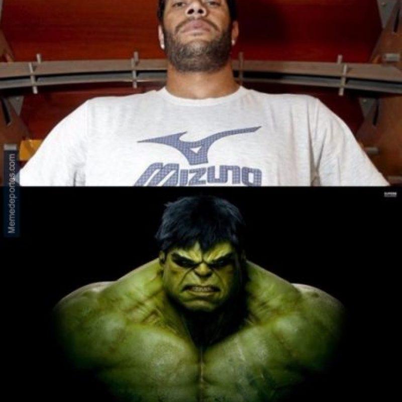Y Hulk venció al Valencia. Foto:memedeportes.com