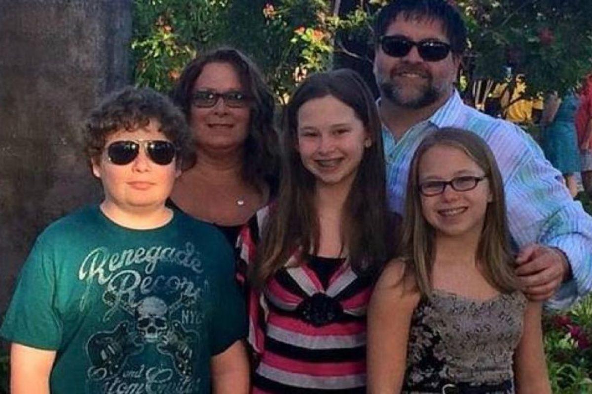 Brian Short mató a sus tres hijos adolescentes y luego a su mujer, para suicidarse. Foto:vía Facebook