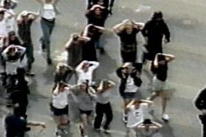 """""""Esto nos dice que la violencia armada en los Estados Unidos no es sólo un problema, sino que es una epidemia"""", dijo a este medio Robyn Thomas, directora ejecutiva del Centro de Derecho para Prevenir la Violencia Armada. Foto:vía Getty Images"""