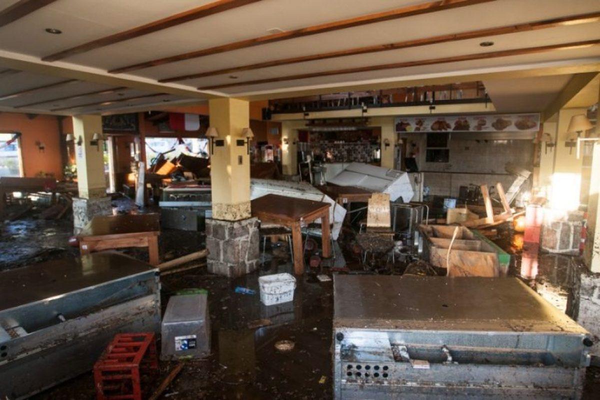 Hasta ahora se reportan 10 personas fallecidas Foto:AFP
