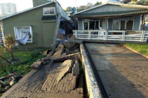 También se trata de uno de los terremotos de mayor intensidad en Chile, en los últimos 25 años Foto:AFP