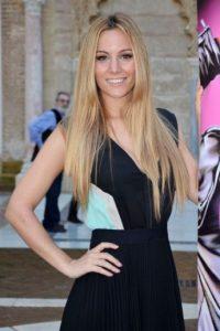 Edurne García Almagro es una cantante, actriz y presentadora española. Foto:Getty Images