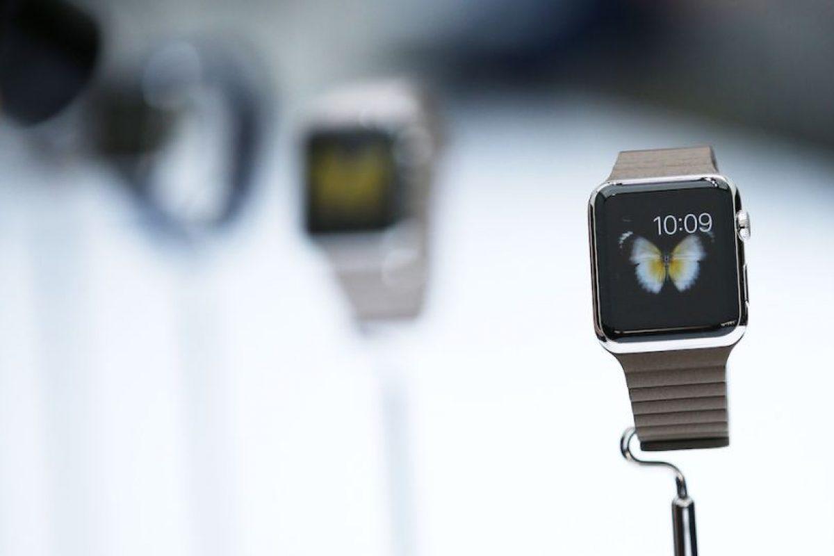Modelos: Apple Watch, Apple Watch Sport y Apple Watch Edition con oro de 18 kilates. Foto:Getty Images