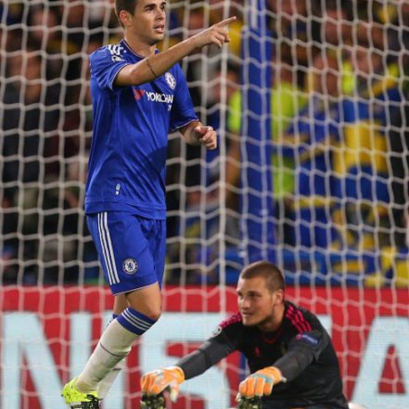 Oscar (Brasil/Chelsea) Foto:Getty Images