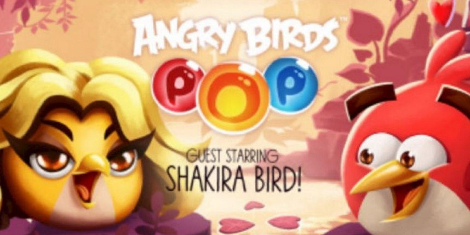 """Shakira ahora es un personaje de """"Angry Birds"""". Foto:Rovio"""