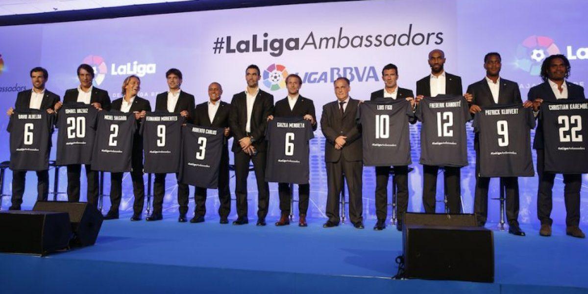 Estas leyendas expandirán la Liga española en todo el mundo