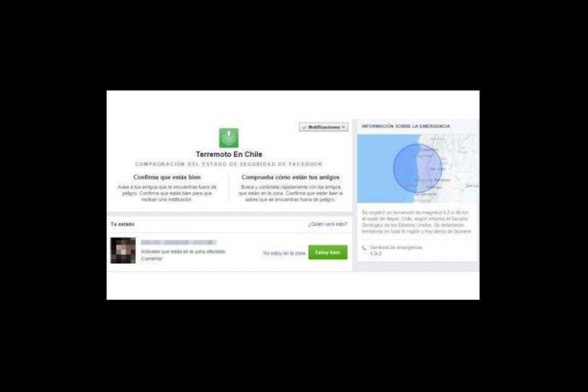 Y son notificados de todas las personas marcadas Foto:Facebook