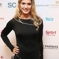 La bella deportista canadiense no tiene novio en la actualidad pues parece que está concentrada en hacer subir su carrera dentro del tenis. Foto:Getty Images