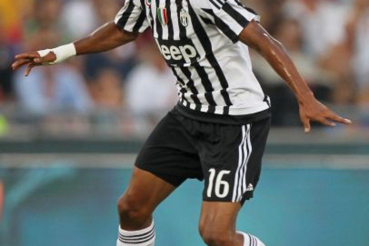 """Fue el mejor hombre de la """"Juve"""" ante Manchester City. Cuadrado jugó pegado a la banda derecha fue ofensivo, pero también bajó a defender. Foto:Getty Images"""