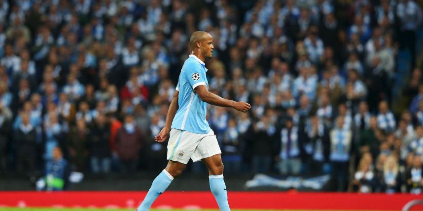 Fue sustituido en el partido entre su equipo, Manchester City, y Juventus por una molestia en la pantorrilla Foto:Getty Images