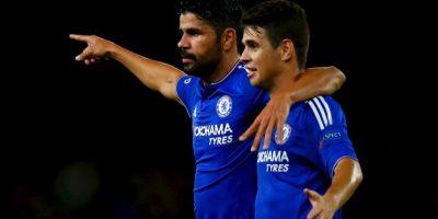 El brasileño tiene actuaciones irregulares, pero fue el mejor hombre del triunfo de Chelsea sobre Maccabi Tel Aviv, y coronó su actuación con un gol de penal. Foto:Getty Images
