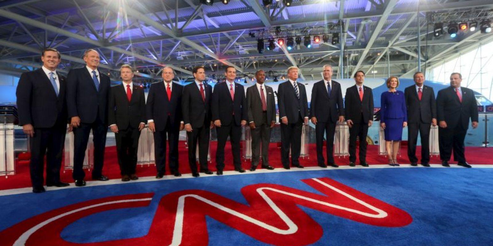 Este segundo debate se llevó a cabo en la Biblioteca Presidencial Ronald Reagan en Simi Valley, California. Foto:Getty Images