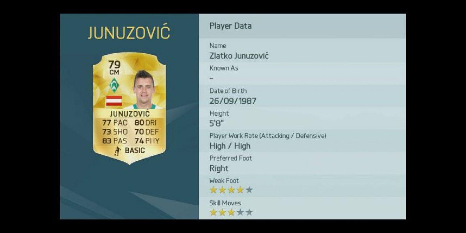 Zlatko Junuzović Foto:EA Sport