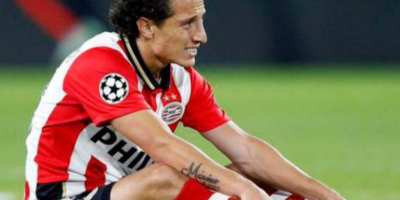 Salió lesionado del partido contra Manchester United de los ligamentos del tobillo izquierdo. Estará fuera por dos semanas Foto:Getty Images