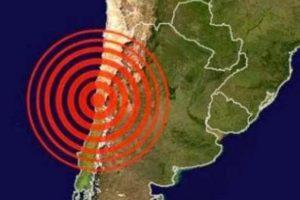 El reporte preliminar de Sismología dice que el movimiento telúrico tuvo una magnitud de 7,2 grados Richter, y su epicentro fue a 36 kilómetros al oeste de Canala Baja. Foto:vía Servicio Geológico de Estados Unidos.