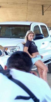 Paige Vanzant es una luchadora de la categoría de peso paja en la UFC Foto:Vía instagram.com/paigevanzantufc