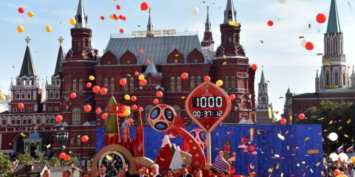 FOTOS. Rusia celebra mil días antes de la Copa del Mundo de 2018