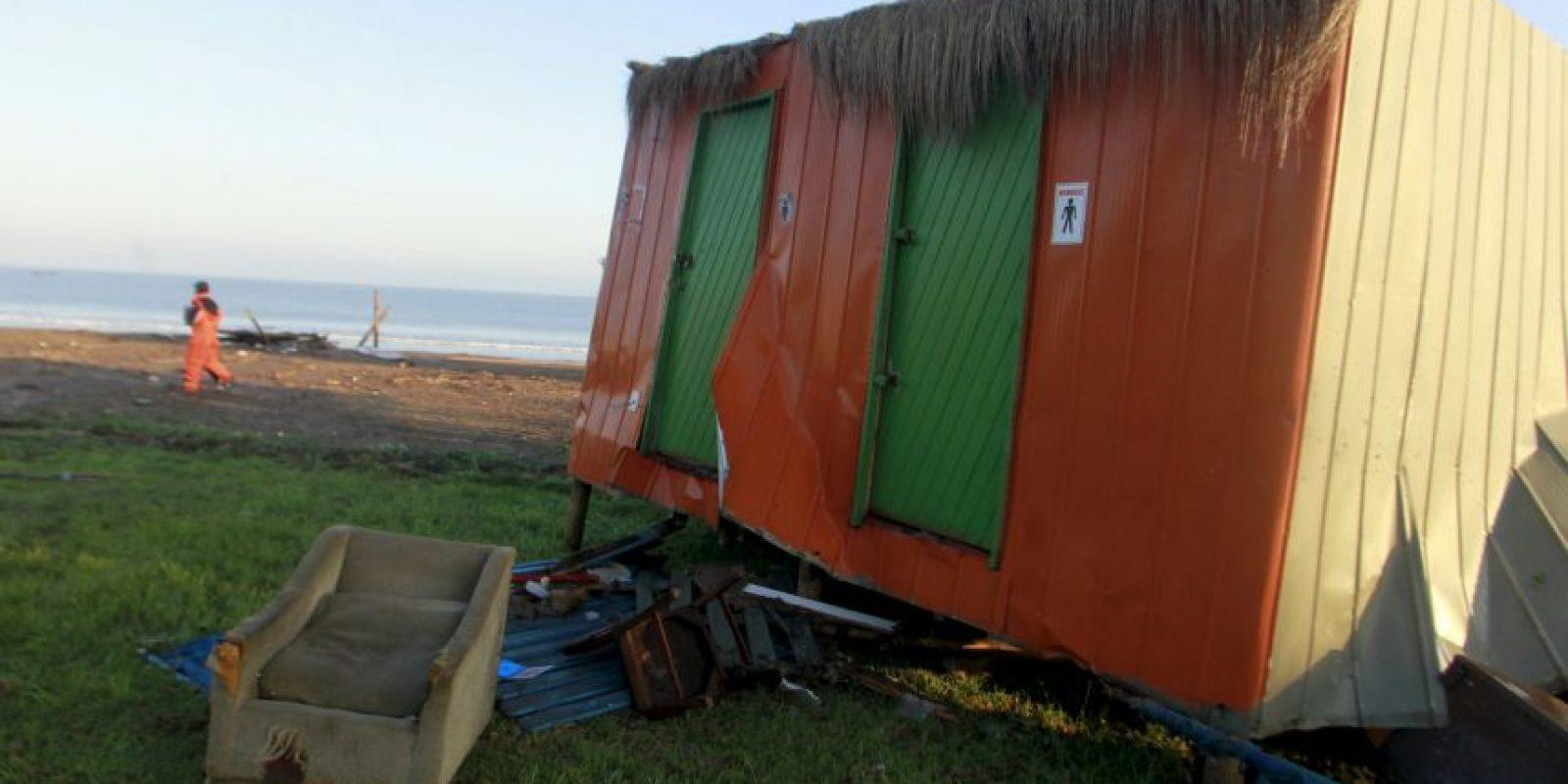 En Chile, la región más afectadada fue Coquimbo Foto:AFP